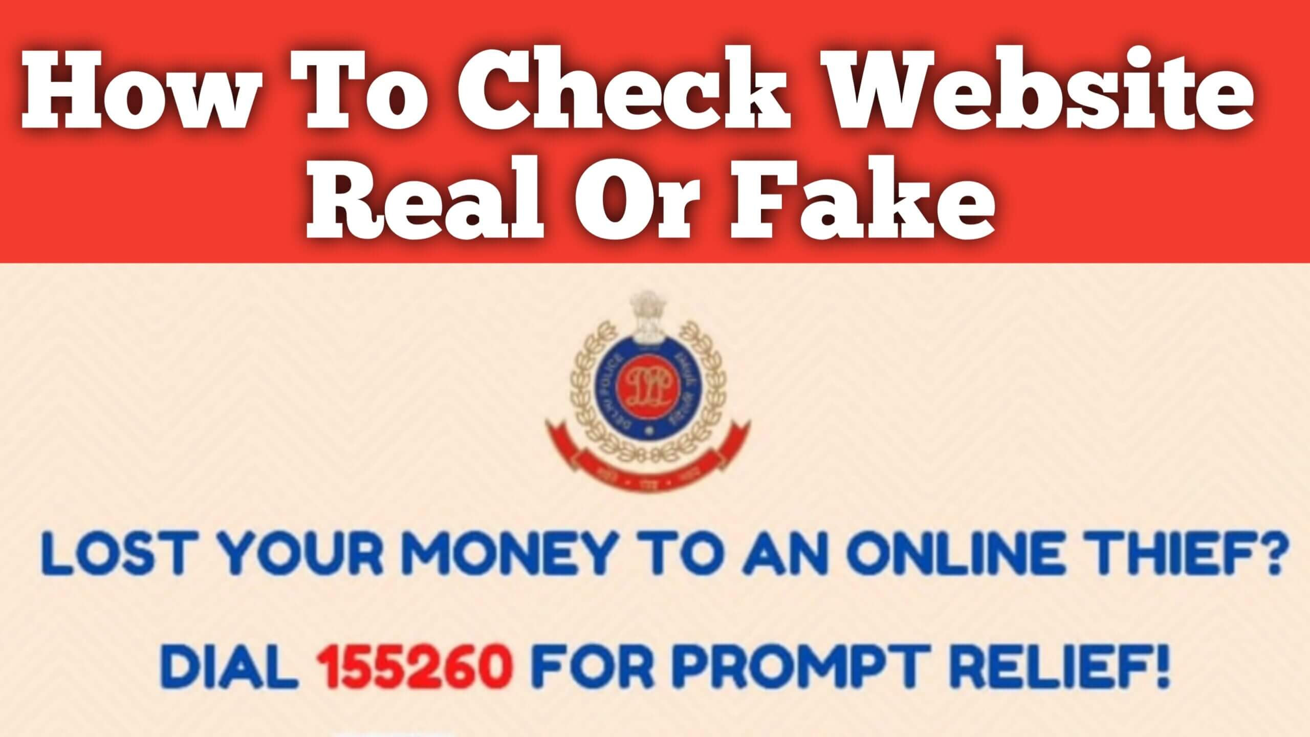 How to Check a website is real or fake